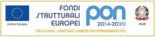immagine che rappresenta il logo pon 2014-2020